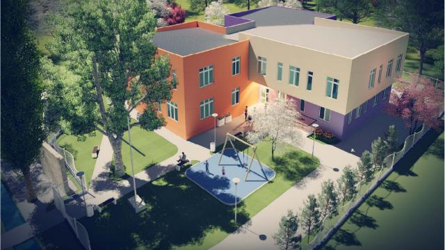 """შპს """"მემონტაჟე ნიკა""""  საიმერლოს საბავშვო ბაღის მშენებლობის ტენდერის  გამარჯვებულია"""